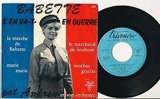 "PAT ANDREW EP 7"" FRANCE LA MARCHE DE BABETTE (BRIGITTE BARDOT) GILBERT BECAUD+"