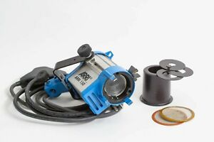 ARRI 150 Watt Tungsten Fresnel Light w/barndoors, snoot, scrims, new mains cable