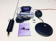 "Team Radio CB Portable Mini Com Kit De Démarrage + Dard Antenne & 6 "" Mag Mount"
