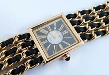 Chanel Mademoiselle Watch Solid 18K Gold. Excellent! 86 grams! Great Value!