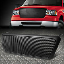 FOR 2004-2008 Ford F-150 BLACK VERTICAL FENCE FRONT BUMPER GRILLE/GRILL GUARD
