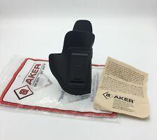 Fits Glock 42 | Aker 134 Spring Special IWB Leather Conceal Holster Black RH