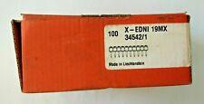 100 chiodi Hilti X-EDNI 19MX per chiodatrice DX36M DXA40X DXA41X 19mm ORIGINALE