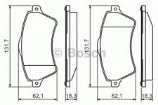 Genuine BOSCH BRAKE PAD SET - 0986424721