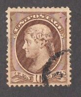 United States stamp #150, used, 1870-1871, SCV $35.00