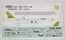 Boeing 757-200 Air Baltic Latvia Decals For Model Scale 1:200 Brand New