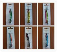 6 Different Color HOLOGRAPHIC TOBY Spinning Lures 18g, Great Quality & Value!