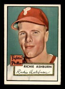 1952 Topps Set Break #216 Richie Ashburn VG-EX *OBGcards*