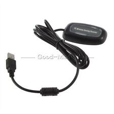 USB Wireless Gaming Controller Receiver Adapter For Windows PC OE Xbox 360