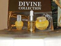 L'OCCITANE DIVINE YOUTH OIL TRAVEL SIZE 4 ML + 1 DIVINE EYES & 1 CREAM SAMPLE