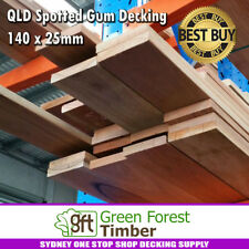 QLD Spotted Gum Decking 140 x 25mm Standard &  Better