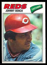 1977 TOPPS OPC O PEE CHEE BASEBALL #100 JOHNNY BENCH EX-NM HOF CINCINNATI REDS