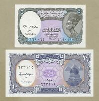 EGYPT - 5 & 10 piastres  L.1940/2008  P188/189  Uncirculated  ( Banknotes )