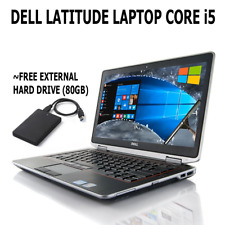 "Dell Latitude i5 Laptop 14.1"" Screen Windows 10 HDMI - 4GB/500GB BUILT-IN WEBCAM"