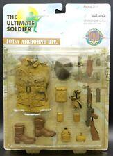 "1:6 Ultimate Soldier WWII US 101st Airborne Div Carded Uniform Set 12"" Figure"