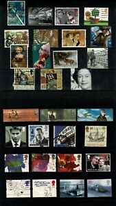 GB Stamps A Selection of  QEII Used Commemorative Stamps #J 4