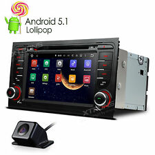 Fit Audi A4 2002-2008 Android 5.1 Car Stereo GPS Nav Bluetooth DVD Player Radio