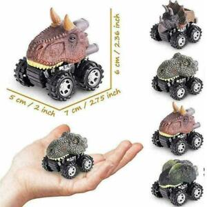 Pull Back Dinosaur Toys 4-pack For 2 3 4 5 Year Old Dinosaurs Y1Z1 Boys and S4S9