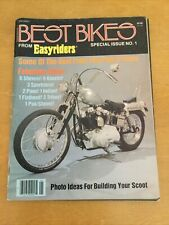 New ListingBest Bikes Special Issue No. 1 From Easyriders Magazine-1980-Motorcycles