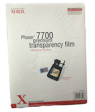 "Phaser 7700 Premium Transparency Film  A Size 8.5""x11"" 50 Sheets Made In USA"
