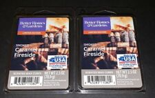 Better Homes & Gardens Scented Wax Cubes SMOKED CARAMEL FIRESIDE / 2 Packs