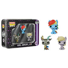 Funko Pocket POP! Tin - My Little Pony - DISCORD, RAINBOW DASH & DERPY HOOVES