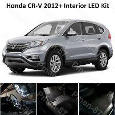 DELUXE HONDA CR-V MK4 2012+ 10PC LED PURE WHITE INTERIOR LIGHT UPGRADE KIT CRV