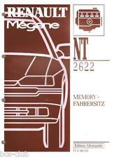 RENAULT MEGANE 1 I MEMORY FAHRERSITZ Funktion Diagnose Rep. WERKSTATT HANDBUCH