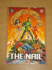 JUSTICE LEAGUE OF AMERICA NAIL BOOK 2 DC COMICS GRAPHIC NOVEL