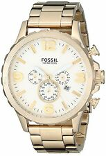 Fossil Nate Gold Chronograph Watch JR-1479