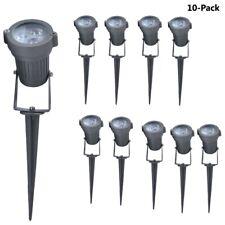 LED Garden Light Outdoor 3W Powered  Waterproof Spot Lamp Path Landscape Bulb