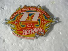 Hot Wheels 2013 27th Annual Collectors Convention Event Racing Hat Pin