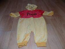 Baby Size 12 Months Disney Winnie the Pooh Bear Halloween Costume Jumpsuite EUC