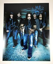 Sevendust Lajon Witherspoon Morgan Rose Signed Autographed 8x10 Photo PROOF
