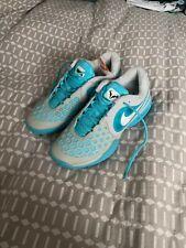 New listing Nike Nadal Air Max CourtBallistec 4.3 CB Gray Tennis Shoes VERY RARE - Blue Rafa