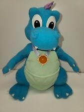 """Dragon Tales 13"""" Talking Ord Lights Up PlaySkool 1999 Plush Euc Medallion Pbs"""