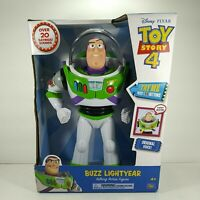 Buzz Lightyear Disney Pixar Talking Action Figure Toy Story 4 New in Package 12""