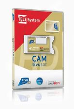 TivuSat Telesystem CI+ Smarcam + Smartcard Gold HD version 4K