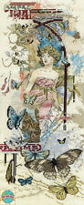 Cross Stitch Kit ~ Design Works Urban Butterflies w/Elegant Woman #DW2842