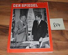 Der Spiegel Kennedys Krisen-General TAYLOR vom 16.08.1961 Art. Nr. 814