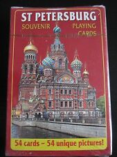 Playing Cards Saint-Petersburg Russia  with 54 Unique Pictures