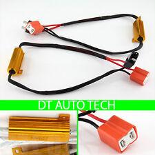 H7 LED DRL Fog Light Canbus 50W 6Ohm Load Resistor Wiring Canceller Decoder