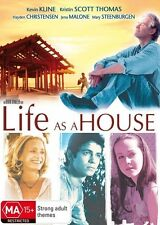 LIFE AS A HOUSE - BRAND NEW & SEALED R4 DVD (KEVIN KLINE, KRISTIN SCOTT THOMAS)