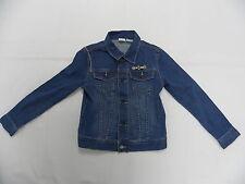 Roxy Girls BOnfire Spirit  Denim Jacket Sz 10 Hoodie Sweaters Retail 64.00
