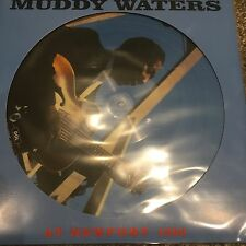 MUDDY WATERS 'AT NEWPORT 1960' 2017 PICTURE DISC VINYL LP NEW AND SEALED