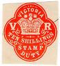 (I.B) Australia - Victoria Revenue : Impressed Stamp Duty 10/-