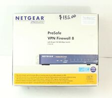 Netgear FVS318 ProSafe VPN Firewall FVS318 with 8-Port Gigabit Switch EUC