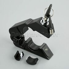 Motorcycle Black Handlebar Hand Grips Lever Brake Caps-Lock Security Anti-theft