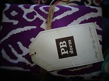 Pottery Barn Teen Urban Ikat  Standard pillowcases Set 2 purple   New