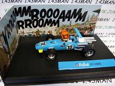 voiture altaya IXO 1/43 diorama BD MICHEL VAILLANT : Formule 1 F1 1970 n°7